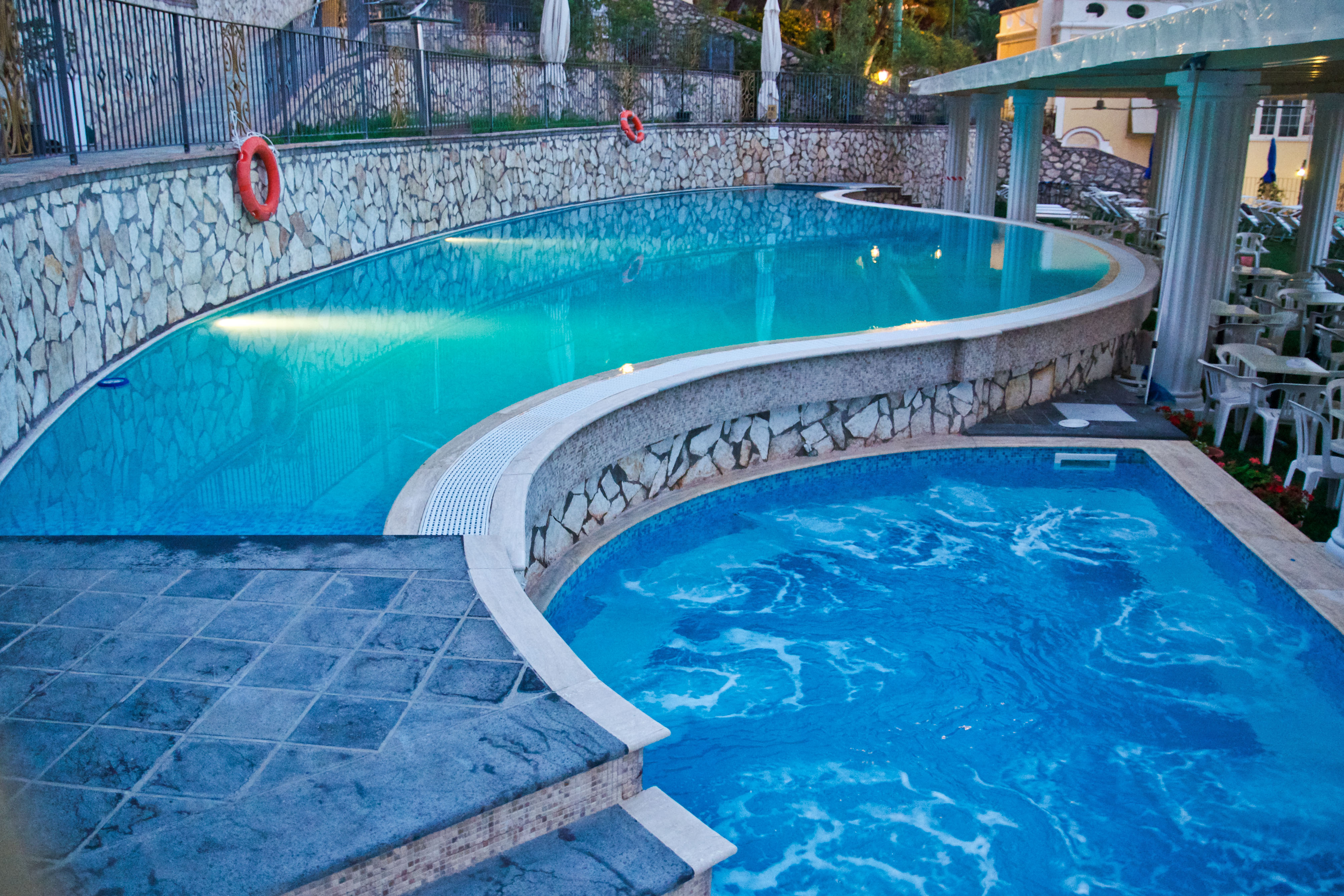 Greetings from capri caprese restaurant glasgow 39 s blog Hotels with swimming pools in glasgow